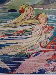 The Little Mermaid illustration Rie Cramer