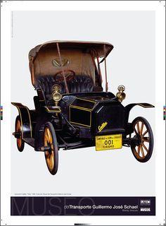 Afiche Museo del Transporte Guillermo José Schael Foto Miguel Moya (IARTE)