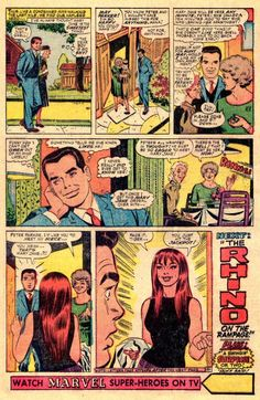 17. John Romita Sr. – 675 points (8 first place votes)  While obviously Steve Ditko created Spider-Man's look, it was Romita's slight re-designs that made Spider-Man the global icon that he remains to this day. Ditko's Peter Parker was a thin, frail fellow. Romita Sr. turned Peter into a heartthrob. Ditko's girls…well…they weren't exactly gorgeous. Romita's girls? Well, as we see in one of the most memorable moments in Marvel history (from Amazing Spider-Man #42) comicbookresources.com