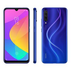 Xiaomi Mi Inch HD+Screen LTE Smartphone Snapdragon 665 Three Rear cameras Android One Global Version - Blue Android Codes, Smartphone Deals, Buy Phones, Cool Tech Gadgets, 4gb Ram, Cool Lego, Dual Sim, Colors