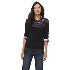 Crew Neck Raglan Sleeve Sweater - Merona