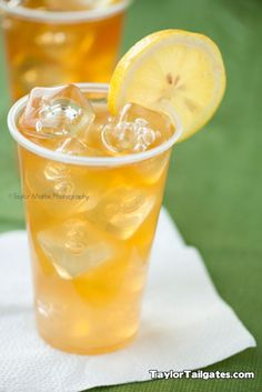 'the john daly' - Sweet tea vodka and sparkling lemonade and hot summer day. You'll thank me!