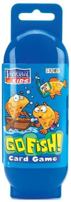 PATCH PRODUCTS-Imperial Kids: Go Fish! Card Game. Something is fishy! Kids will learn picture matching and turn taking when they... (see details) $3.99