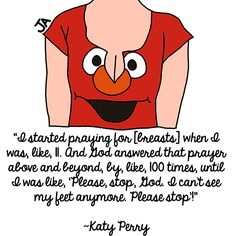 Katy Perry, Still Talking About Her Boobs: Illustration by Jena Ardell for O.C. Weekly Music.