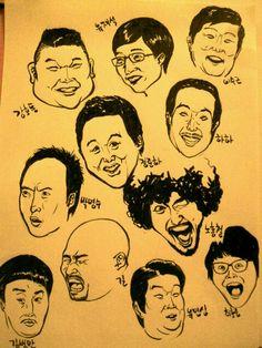 재미있는 개그맨들~^^고마운존재들~~