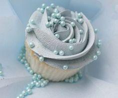 Color Azul Pastel - Pastel Blue!!! Cupcake