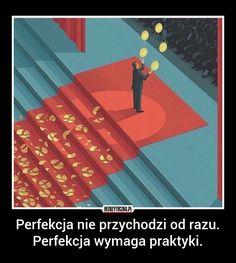 Bezuzyteczna.pl | Codzienna dawka wiedzy bezuzytecznej Motivational Words, Words Quotes, Wise Words, Important Quotes, Smart Art, Life Motivation, Life Lessons, Quotations, Wisdom