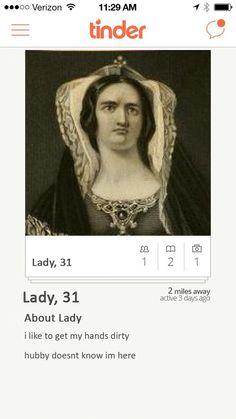 Lady Macbeth, Macbeth | If Shakespearean Characters Were On Tinder