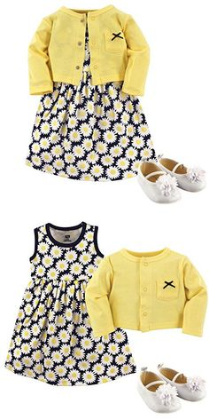 33b0d142d Youngland Baby 2 Piece Dress, Shantung Floral Print Dress and Crochet  Cardigan, Floral, 3-6 Months | Baby Girls Dresses | Pinterest | Floral,  Printing and ...