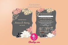 | Kad kahwin murah | kad kahwin cantik | pakej kad kahwin | kad kahwin pink | kad kahwin bunga | wedding card | Jemputan Kahwin | Kad kahwin 4x6 | wedding card malaysia