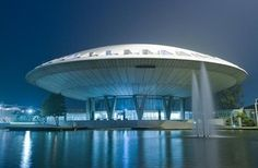 "Exhibition venue: Evoluon, Eindhoven, the Netherlands. Locally known as ""that big giant UFO"" Great Place To Work, Great Places, Beautiful Places, Architecture Today, Beautiful Architecture, Amsterdam City, Rotterdam, 21st Century, Ufo"