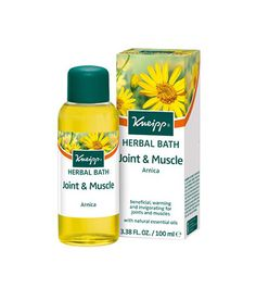The beneficial, warming and invigorating Kneipp® Herbal Bath Joint & Muscle contains valuable arnica extract and natural essential oils of cabreuva, rosemary and pine species. Available now for only £9.95