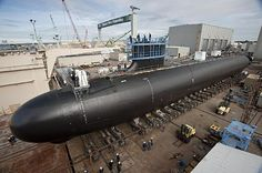 The Virginia-class attack submarine Minnesota (SSN 783) is under construction at at Huntington Ingalls Newport News Shipbuilding, Nov. 1, 2012. (U.S. Navy photo courtesy of Newport News Shipbuilding/Released) Photo by Chris Oxley