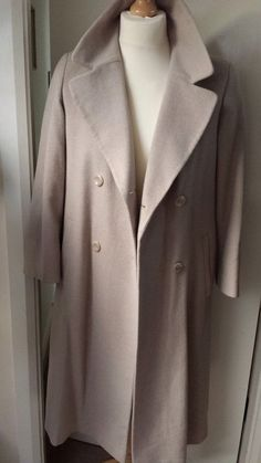 M&S MARKS & SPENCER OverCoat Cashmere Wool Mohair  £26.99 Womens Ladies 8 Petite 25% Off - Lovely!