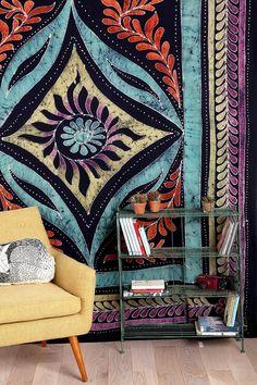 Sun Medallion Batik Tapestry - Urban Outfitters