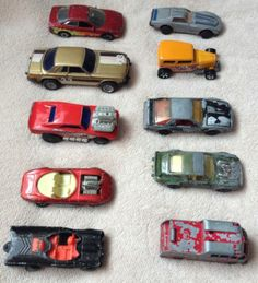 Job Lot Of Assorted Vintage Cars Hot Wheels, Matchbox, Corgi, Lesney, Majorette - http://www.matchbox-lesney.com/49970