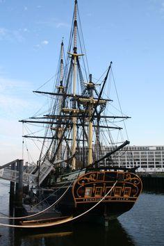 Salem Massachusetts Harbor...the big ship!