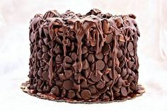 Cake with a lot of chocolat