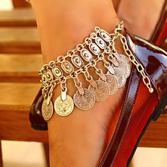 Ankle Jewelry, Ankle Bracelets, Beach Anklets, Silver Anklets, Bare Foot Sandals, Summer Jewelry, Unique Jewelry, Chain, Barefoot