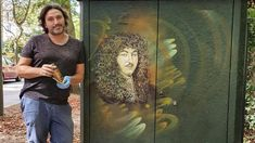 C215 Street Artists, Painting, Artist At Work, Painting Art, Paintings, Painted Canvas, Drawings
