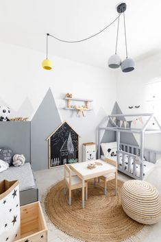 Nursery in scandi style Nursery in scandi style The post Nursery in scandi style appeared first on Raumteiler ideen. Baby Bedroom, Baby Boy Rooms, Nursery Room, Kids Bedroom, Playroom Decor, Baby Room Decor, Kids Decor, Home Decor, Decor Ideas