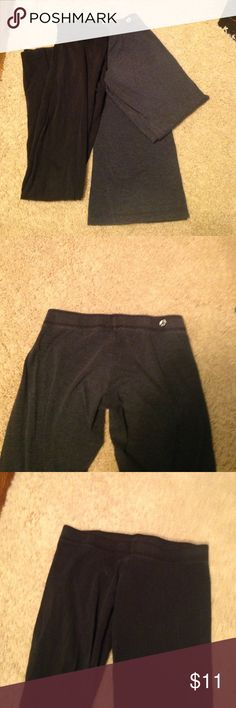 'Butter' yoga pants bundle Great condition, they are a little on the smaller size but still very comfy! Black and gray, let me know if you would like to see measurements!! Butter Pants