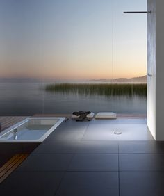 40 Gorgeous Modern Outdoor Shower Ideas For Best Inspiration - About-Ruth Interior Exterior, Interior Architecture, Interior Design, Home Living, Luxury Living, Modern Living, Beautiful Bathrooms, Serene Bathroom, Glass Bathroom