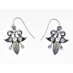 Crystal AB Fish-Hook Earring #MyStyleJewelry