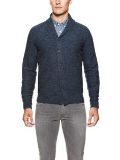 Austrian Wool Cardigan by J Lindeberg at Gilt
