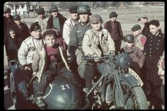 German troops enter Bulgaria. Date taken:March 1941 Photographer:Hugo Jaeger