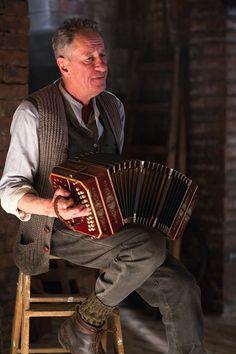 Markus Zusak talks about Geoffrey Rush, accordions, Hans Hubermann, and 'The Book Thief'