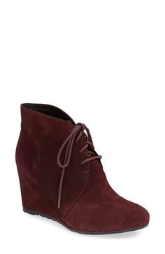 Clarks® 'Rosepoint Dew' Suede Boot (Women) at Nordstrom.com. With a sleek, updated profile and a leg-lengthening wrapped wedge, this signature desert boot instantly becomes a style staple. An Active Air® footbed provides daylong comfort and a shock-absorbing fit.