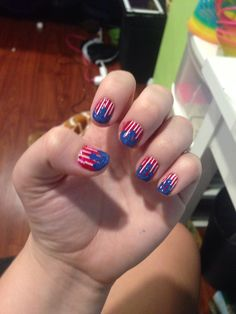 Fourth of July nails!❤️
