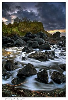 Dunluce Castle in Ireland. Believed to be C.S. Lewis' inspiration for Cair Paravel.