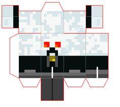 Papercraft Skydoesminecraft Car (Mini)   n8's epic