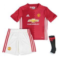 fe6699b649 Camisetas del Manchester United para Niños Home 2016 2017 Manchester United  Soccer