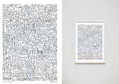 Repetitive prints - judy kaufmann