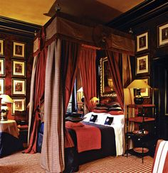 Anouska Hempel ~ She owns the Blake hotel in London where every room is a work of art. I absolutely love her design aesthetic which focuses on rich colors and and beautiful fabrics.