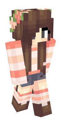 Check out our list of the best Girl Minecraft skins. Minecraft Cake Creeper, Minecraft Skins Cute, Minecraft Pixel Art, Cool Minecraft, Minecraft Buildings, Anime Neko, Kawaii Anime, Lyna Youtube, Capas Minecraft