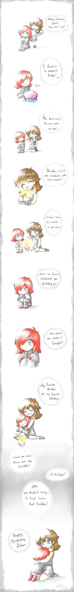 Happy Birthday Silver-kun by firehorse6 on DeviantArt