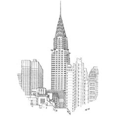 Matteo Pericoli - Chrysler Building