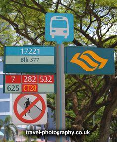 Singapore bus stop