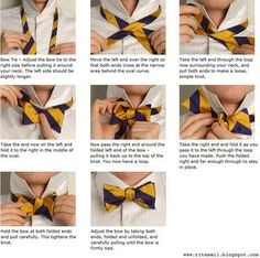 Everyone should know how to tie a bow tie...