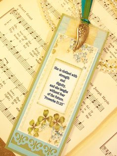SOLD OUT Bookmark Women of Faith Proverbs 31 25 Vintage by PrayerNotes, $5.25