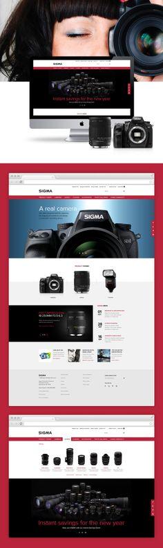 Sigma Photo by Justin Freiler #website #design #digital