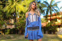 boho chic campanhas de moda | Vestido e cinto, Zaus Boutique | Bolsa, Tia Te | Brinco, Accessorize ...