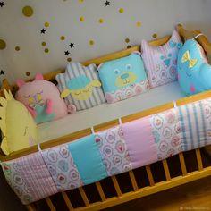 Детская ручной работы. Бортики на 4 стороны кроватки. конверты и одеяла 'РЕПКА'. Ярмарка Мастеров. Комплект для малыша, выписка