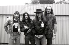 Ronnie, third from left, good Lord, he's got dimples, too  https://www.youtube.com/watch?v=AQyrdVCJ2yk