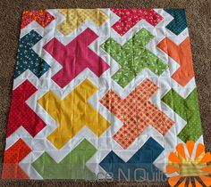 fun quilts | Quilt: Sewing-----For Fun! EKG pattern from Modern One-Block Quilts ...