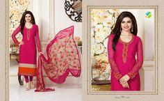 VINAY FASHION LLP SILKINA ROYAL CREPE VOL-4 bollywood actress Prachi Desai Surat brand salwar suits at wholesale best company price